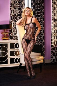 Bodystocking ELECTRIC LINGERIE EH425-BLK