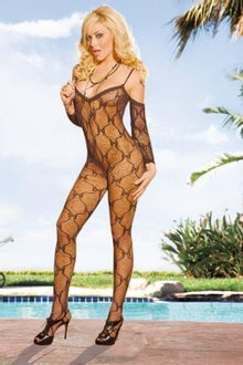 Bodystocking ELECTRIC LINGERIE EH216-BLK