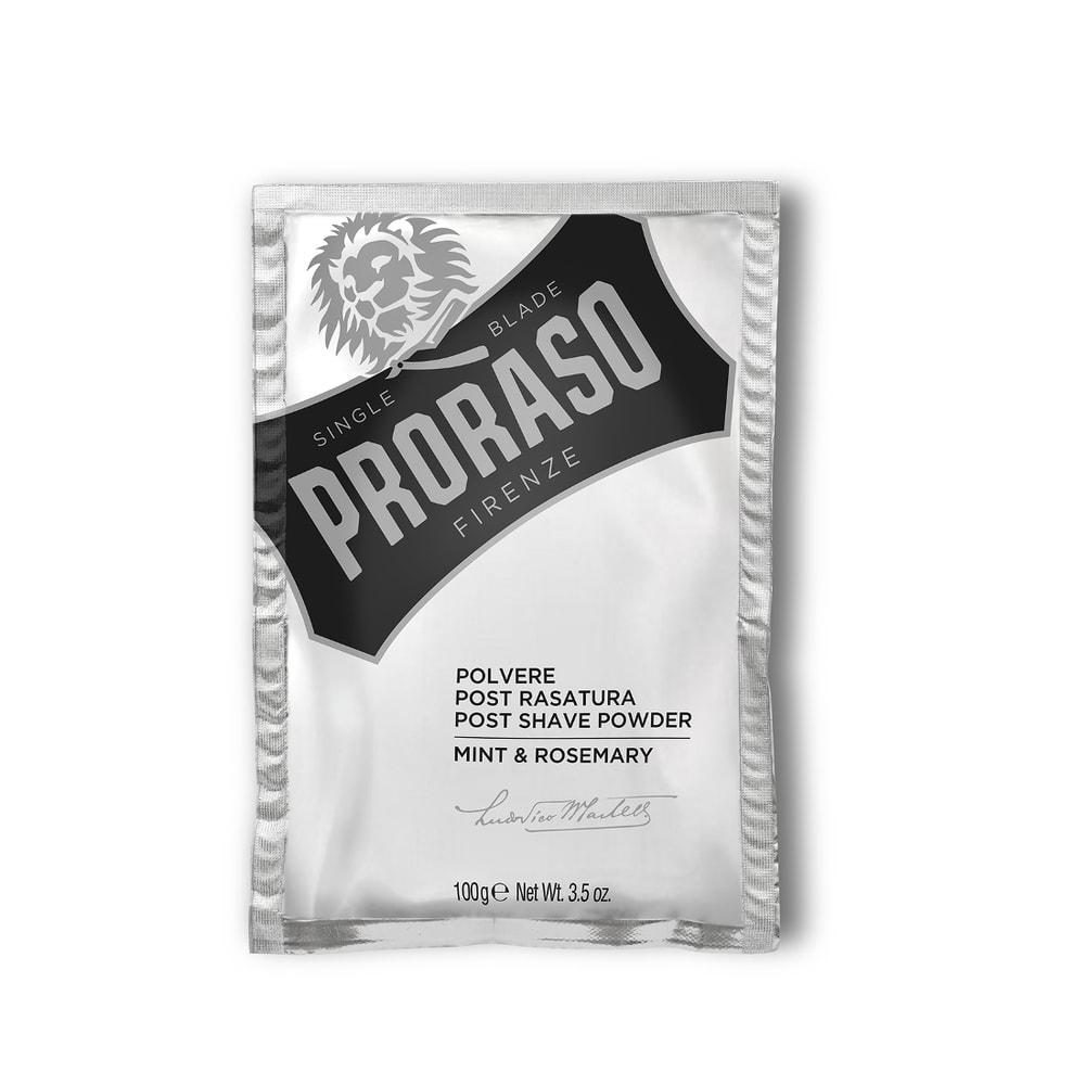 Pudr po holení Proraso - Mint & Rosemary (100 g)