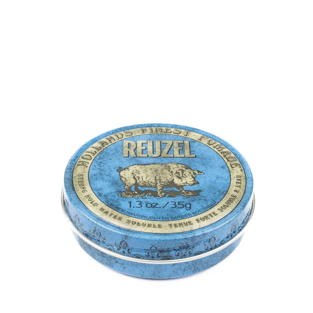 Reuzel Blue Water Soluble Strong Hold - pomáda na vlasy (35 g)