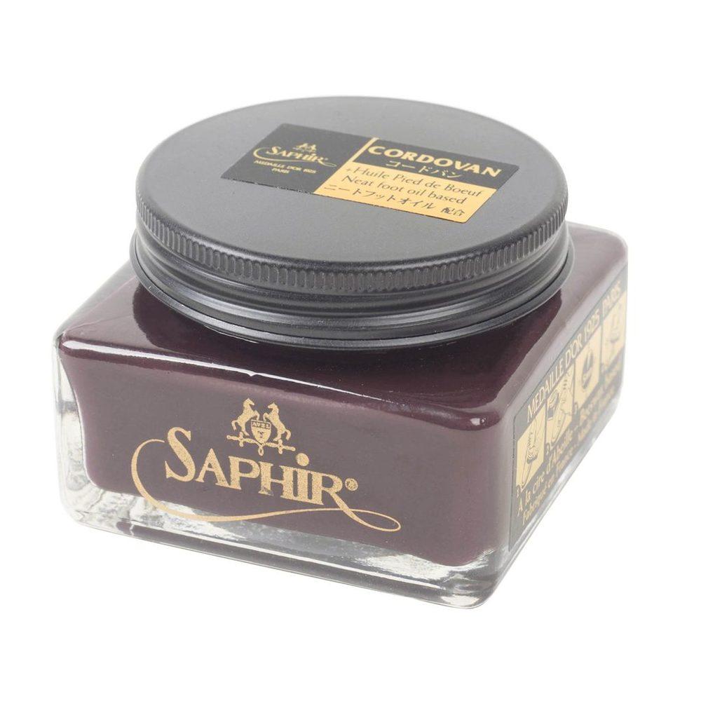 Levně Krém na kordovánové boty Saphir Pommadier (75 ml) - Burgundy