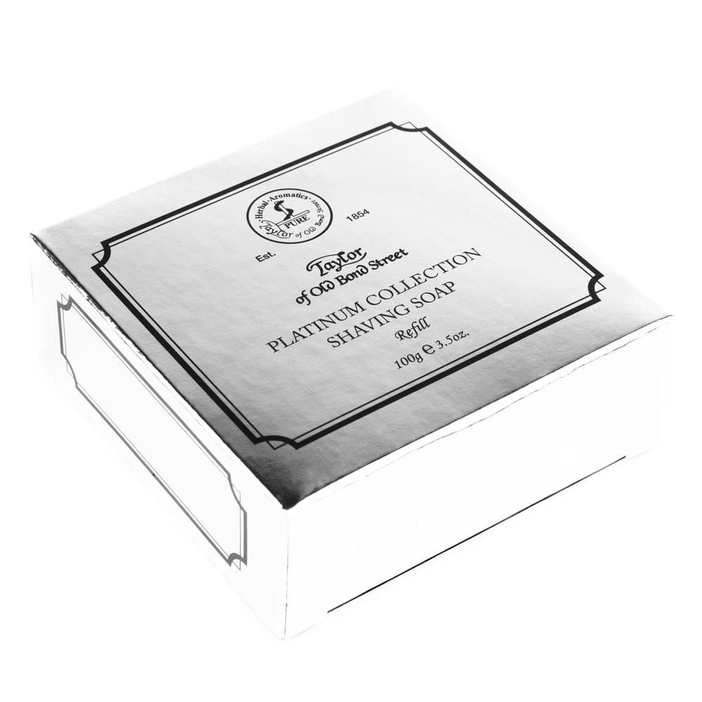 Mýdlo na holení Taylor of Old Bond Street Platinum Collection - náhradní náplň (100 g)