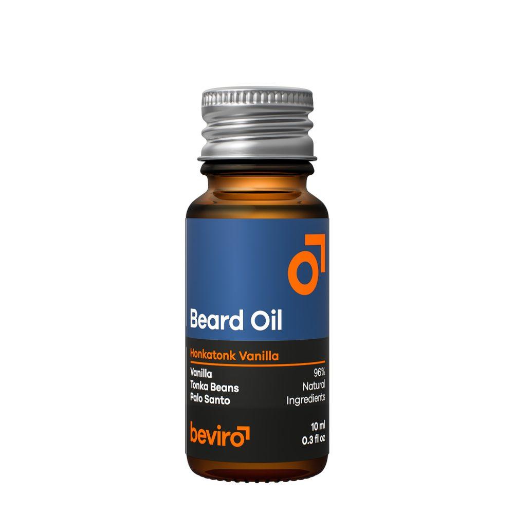 Cestovní olej na plnovous Beviro Honkatonk Vanilla (10 ml)