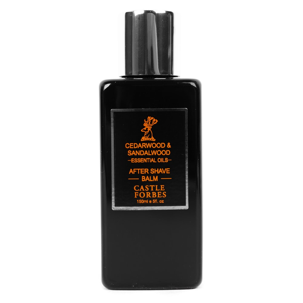 Balzám po holení Castle Forbes - Cedarwood & Sandalwood (150 ml)