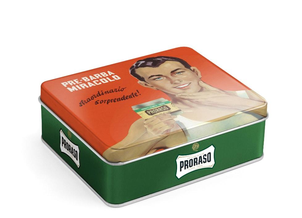 Klasická dárková sada na holení Proraso Green - osvěžující (eukalyptus)