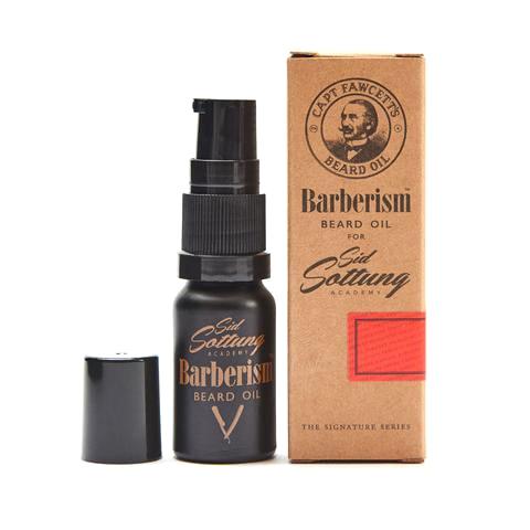 Olej na plnovous Cpt. Fawcett Barberism by Sid Sottung - cestovní balení (10 ml)