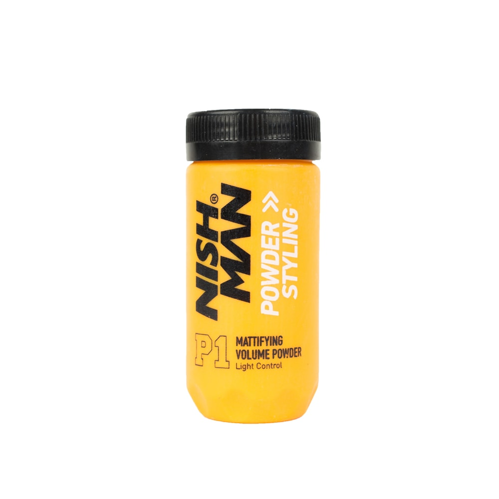 Nish Man Mattifying Styling Powder - pudr na vlasy (20 g)