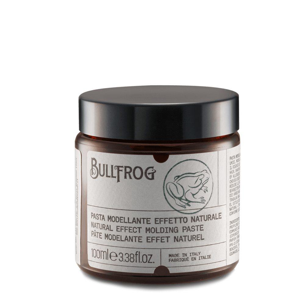 Levně Bullfrog Natural Effect Molding Paste - matná pasta na vlasy (100ml)