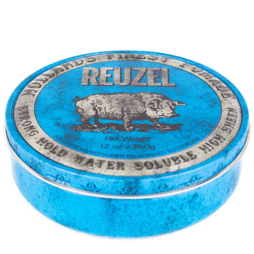 Reuzel Blue Water Soluble Strong Hold - pomáda na vlasy (340 g)