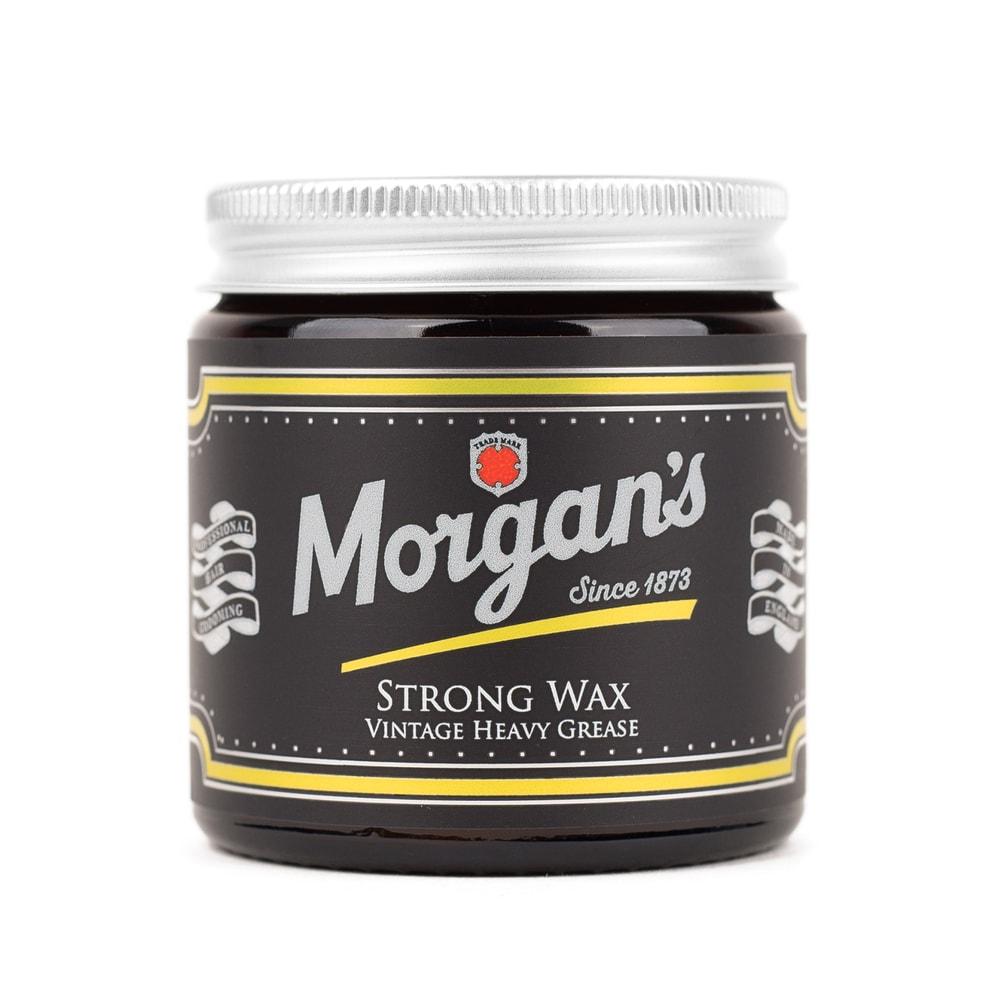 Morgan's Strong Wax - silný vosk na vlasy (120 ml)