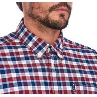 Kostkovaná košile Barbour Country Check 15 - Rich Red (button-down)