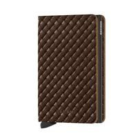 Secrid Slimwallet Basket - Brown