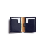 Bellroy Slim Sleeve - Navy & Tan