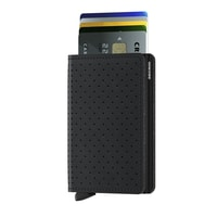 Secrid Slimwallet Perforated - Black