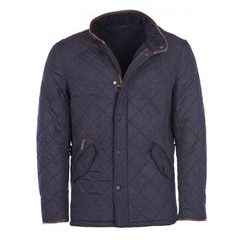Prošívaná bunda Barbour Powell - navy