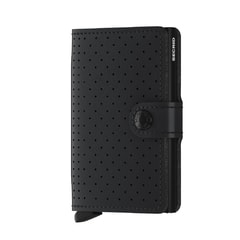 Secrid Miniwallet Perforated - Black