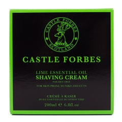 Krém na holení Castle Forbes - Lime (200 ml)