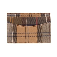 Tartanové pouzdro na karty Barbour Card Holder - Mixed Tartan