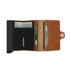 Secrid Twinwallet Original - Cognac & Brown
