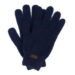 Vlněné rukavice Barbour Donegal Gloves - navy