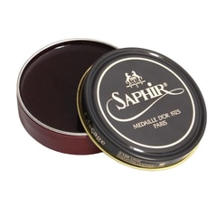 Vosk na boty Saphir Wax Polish - mahagon (50 ml)