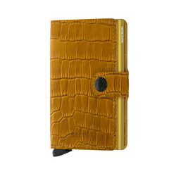Secrid Miniwallet Cleo - Ochre & Brown