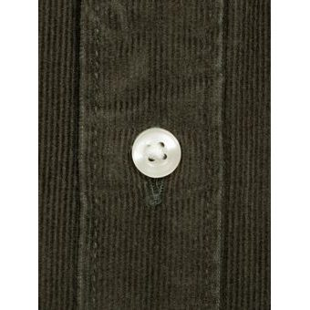Manšestrová košile Barbour Cord - Forest (button-down)