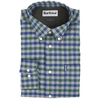 Kostkovaná košile Barbour Country Check (button-down)
