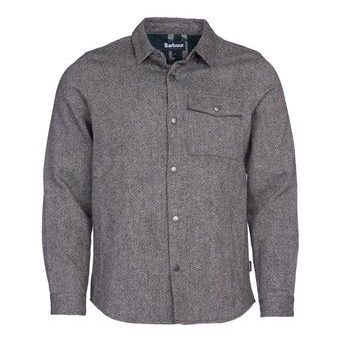 Overshirt Barbour Swaledale - šedá