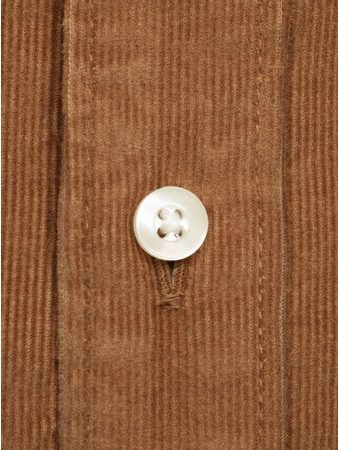 Manšestrová košile Barbour Cord - Sandstone (button-down)