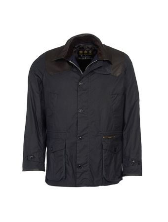 Voskovaná bunda Barbour Gold Standard Supa-Ashby - navy