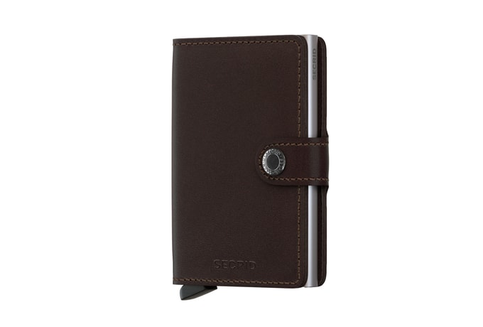 Secrid Miniwallet Original - Dark Brown