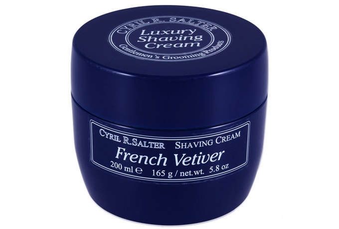 Krém na holení Cyril R. Salter – French Vetiver (200 ml)
