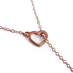 Sweet heart Rose gold