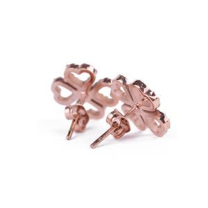 Cloverleaf Rose Gold