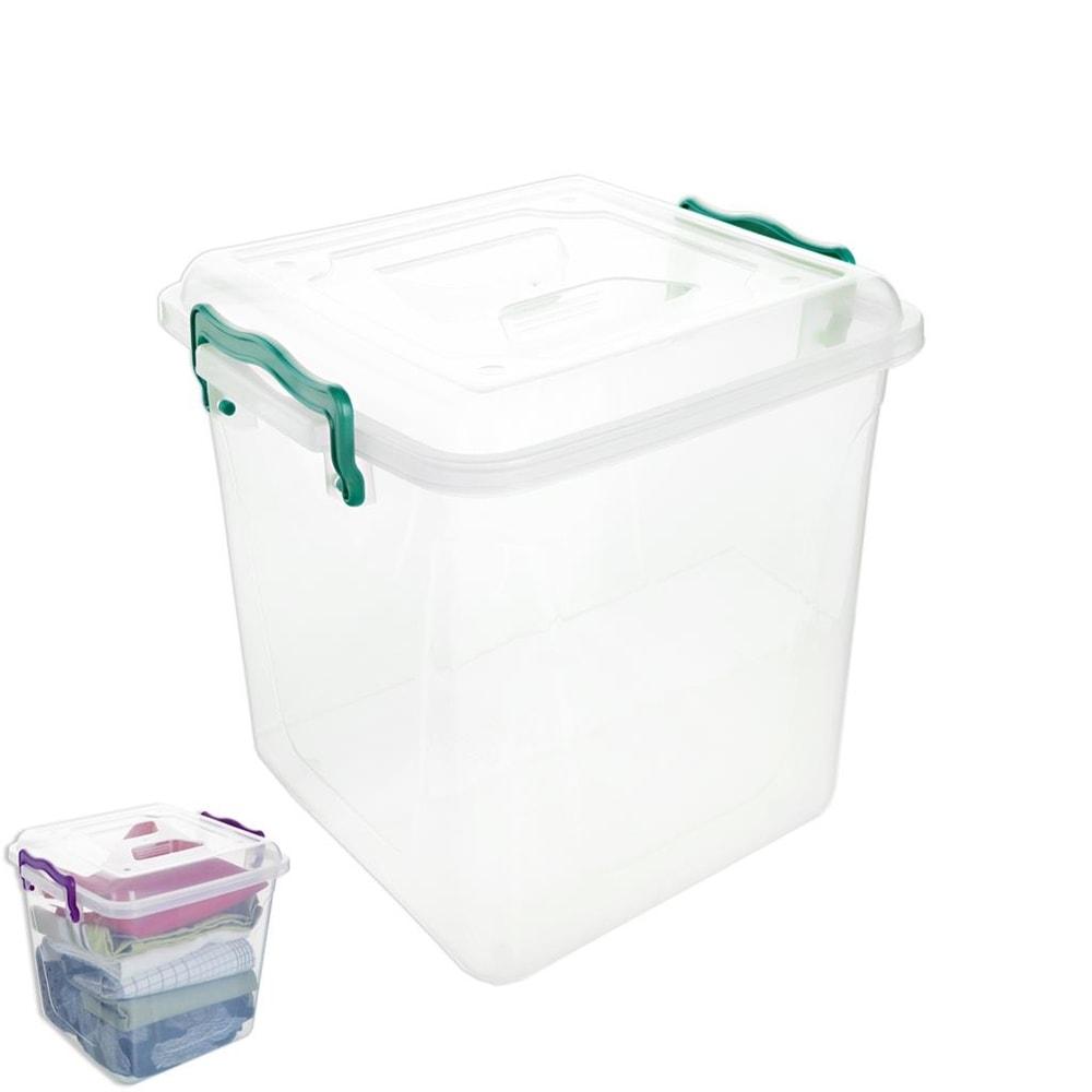 Box plast multi čtverec V vysoký 11 l - ORION domácí potřeby