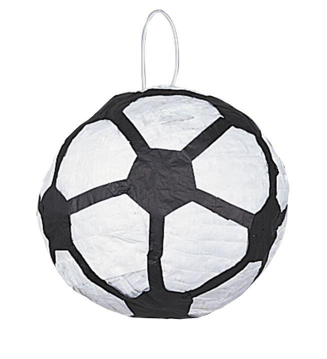 Piňata Fotbal míč - 25 x 25 x 25 cm - rozbíjecí - UNIQUE