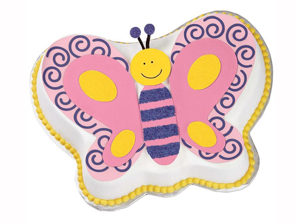 Dortová forma Motýl 3D - Wilton
