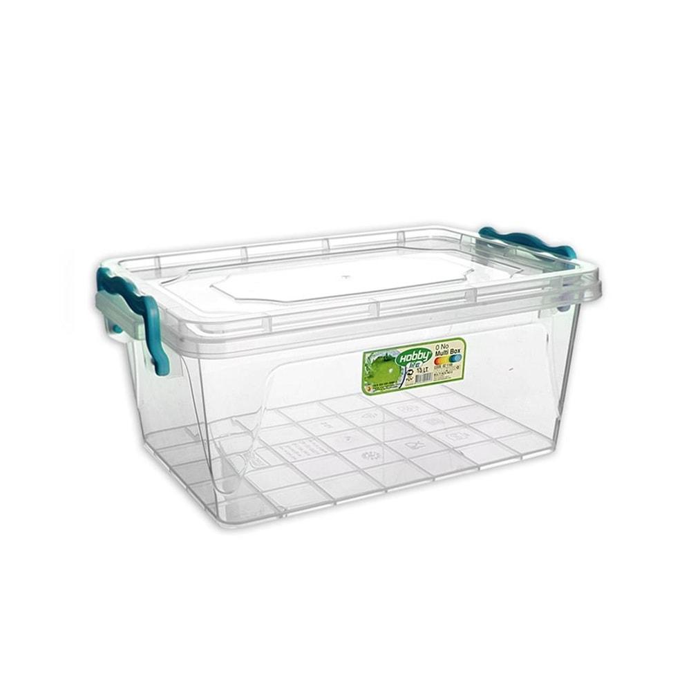 Box plast multi obdelník nízký 13 l - ORION domácí potřeby