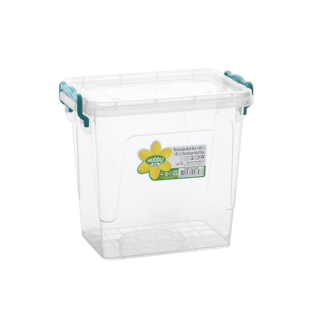 Box plast multi obdelník vysoký 1,45 l - ORION domácí potřeby