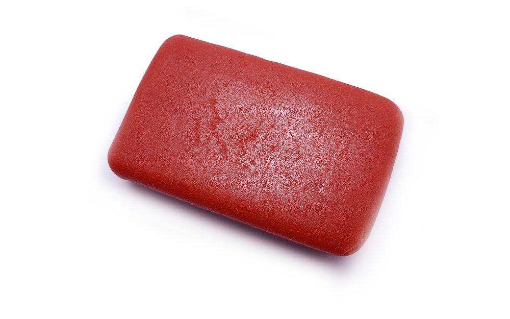 Marcipán červený na modelování 100 g - Frischmann