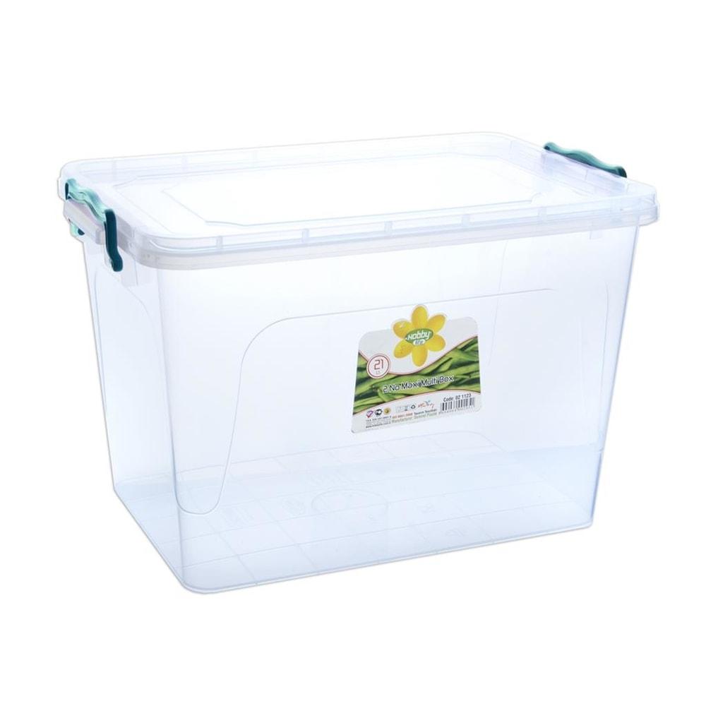 Box plast multi obdelník vysoký 21 l - ORION domácí potřeby