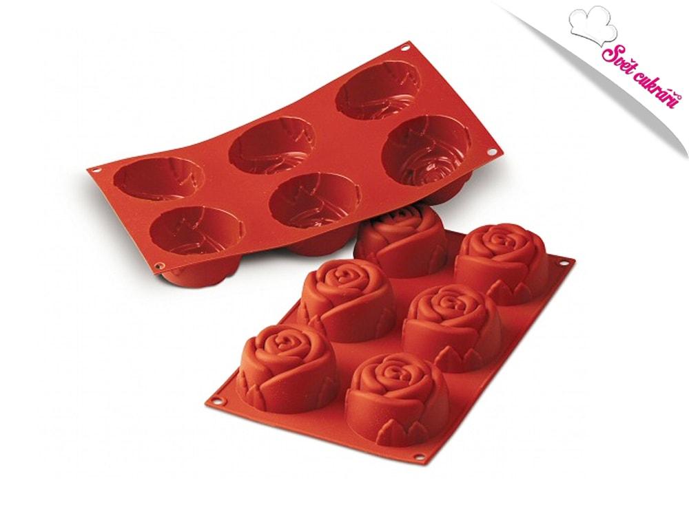 Silikonová forma Růže - Silikomart