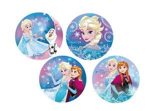 Modecor Jedlý papír Ledové království - Frozen (Elza, Olaf, Anna) - 1 ks
