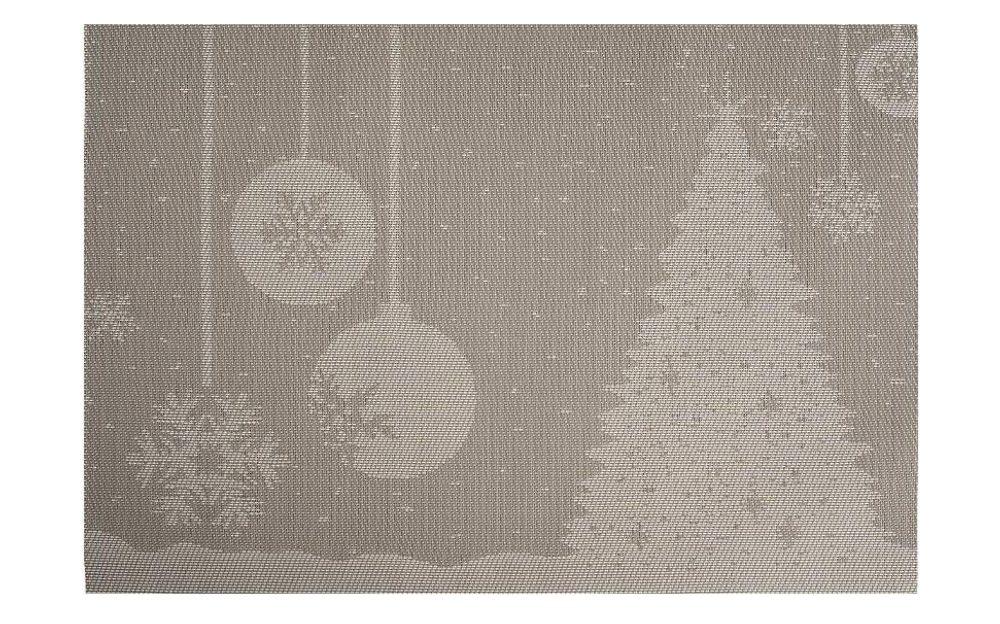 Prostírání plastové šedé - Vánoční design - Artium