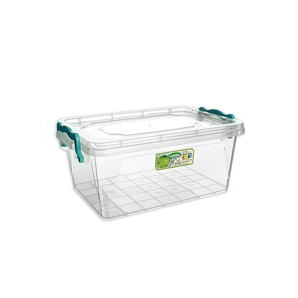 Box plast multi obdelník nízký 3 l - ORION domácí potřeby