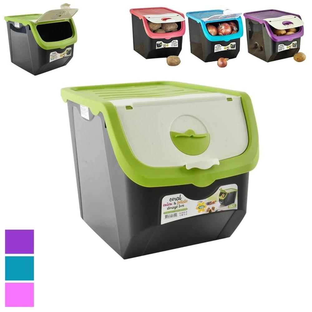 Box plast skladovací Cibule 12 l - ORION domácí potřeby