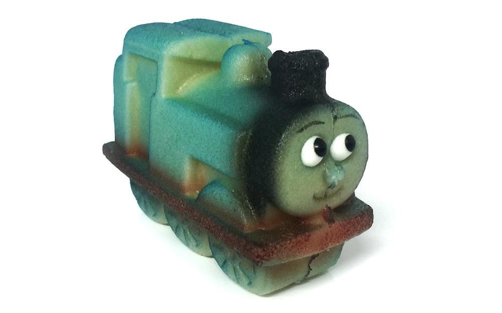 Mašinka Tomáš - marcipánová figurka na dort -