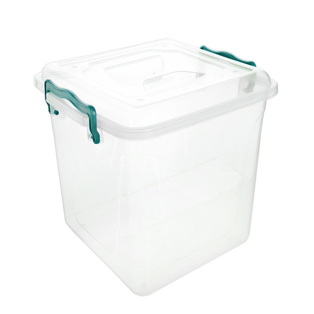 Box plast multi čtverec V vysoký 20 l - ORION domácí potřeby