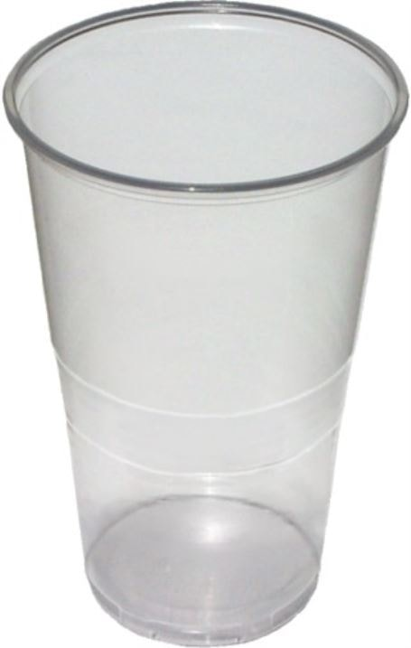 Kelímek Pivní 0,5 L čirý 50 ks balení - MAZUREK